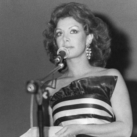 Presentadora, 1981