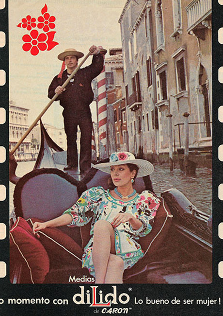TV commercial for Medias Di Lido in Venice, 1984
