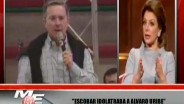 Declaraciones de Virginia Vallejo sobre Álvaro Uribe Vélez, 2007